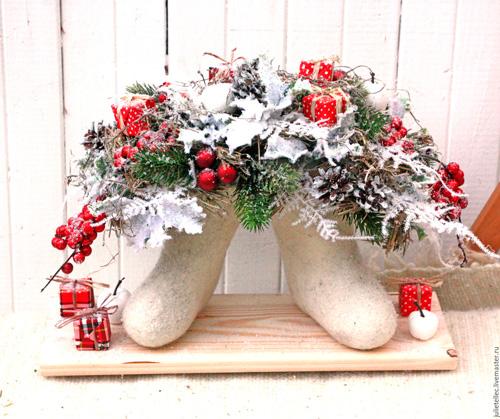 Креативные новогодний букет, орхидеи букет свадебный